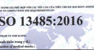 Dịch vụ cấp chứng nhận ISO 13485 tại Hải Phòng